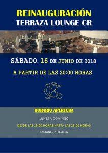Reinauguración Terraza Lounge CR Verano 2018 @ Sede Central