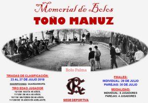 Memorial de Bolos Toño Manuz 2018