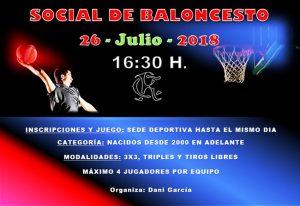 Social 2018 de Baloncesto @ Sede deportiva (Tronqueria)
