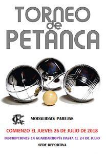 Torneo de Petanca @ Sede deportiva (Tronqueria)