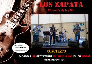 Actuación Los Zapata @ Sede Deportiva