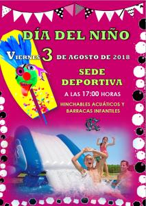 DÍA INFANTIL 03-08-2018 @ Sede Deportiva