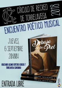 Encuentro Poético Musical 2018 @ Sede Central