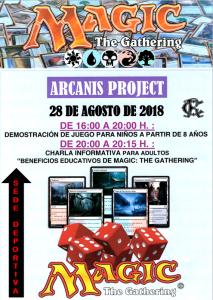 Actividad Juego de Magic Agosto 2018 @ Sede Deportiva