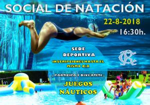 Social de Natación 2018 @ Sede Deportiva