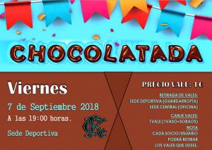 Chocolatada 2018 @ Sede Deportiva