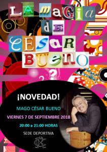Mago César Bueno @ Sede Deportiva