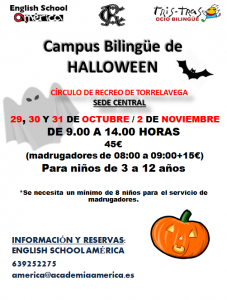Campus Bilingüe Halloween 2018 @ SEDE CENTRAL