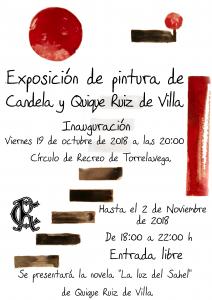 Presentación Novela e Inauguración Exposición de Pintura @ Sede Central