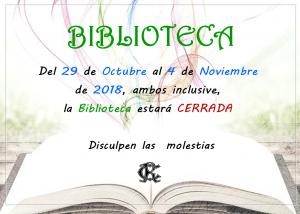 Horario Biblioteca @ SEDE CENTRAL