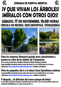 Jornadas Puertas Abiertas - Visita Árboles @ SEDE DEPORTIVA