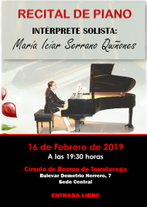 Recital de Piano @ Sede Central