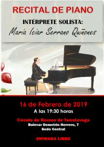 Recital de Piano @ Sede Central