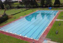 Piscina olímpica, imagen desde el aire