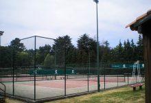 Pistas de tenis, imagen de día
