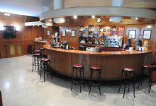 Vista de la barra de la cafetería