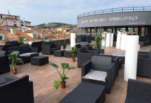 Terraza lounge vista sillones