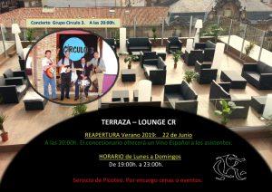 Terraza Lounge CR y Concierto @ Sede Central