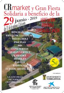 CR Market y Fiesta Solidaria AECC @ Sede Deportiva