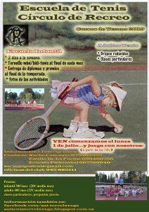 Escuela de Tenis Verano @ Sede Deportiva