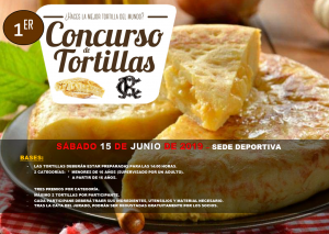 Concurso de Tortilla @ Sede Deportiva