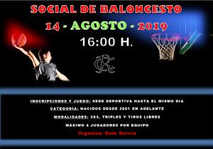Torneo de Baloncesto @ Sede Deportiva
