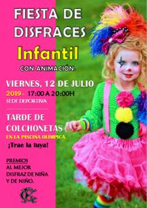 Fiesta disfraces infantil @ Sede Deportiva