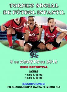 Torneo Social de Fútbol Menores @ Sede Deportiva
