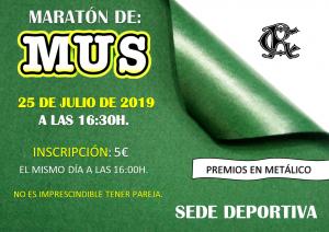 Maratón de Mus @ Sede Deportiva