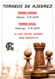 Torneo Social Ajedrez @ Sede Deportiva