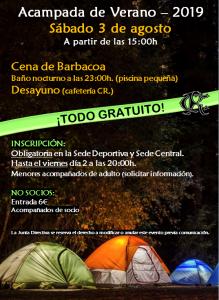 Acampada @ Sede Deportiva