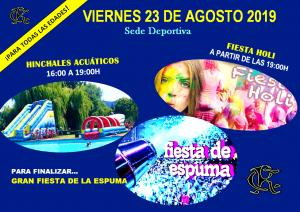 Hinchables Acuáticos - Fiesta Holi - Fiesta de la Espuma @ Sede Deportiva