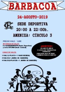 Barbacoa y actuación musical @ Sede Deportiva