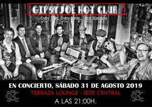 CONCIERTO 31-08-2019 @ Sede Central