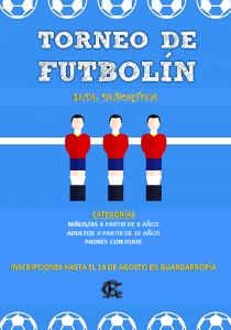 TORNEO DE FUTBOLÍN @ Sede Deportiva