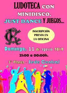 LUDOTECA 11-08-2019 @ Sede Central