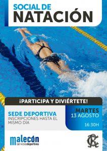 SOCIAL DE NATACIÓN 2019 @ Sede Deportiva