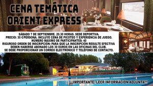 Cena Temática @ Sede Deportiva