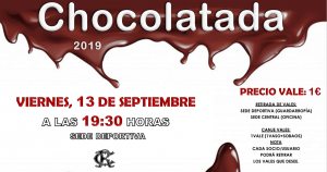 Chocolatada @ Sede Deportiva