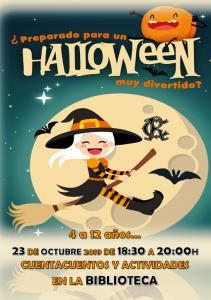 Cuentacuentos Halloween @ Biblioteca Sede Central