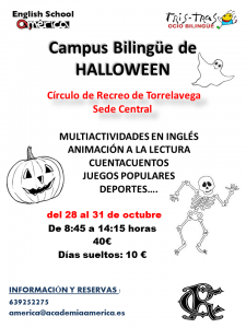 Campus Bilingüe Halloween @ Sede Central