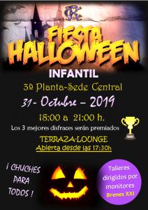 Fiesta Halloween Infantil @ Sede Central