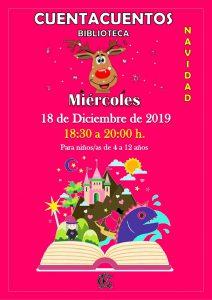 CUENTACUENTOS 18-12-2019 @ Sede Central
