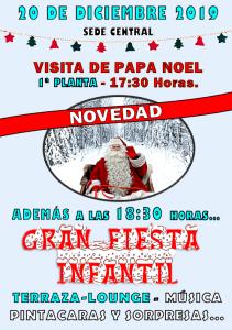 Visita Papa Noel y Fiesta Infantil @ Sede Central