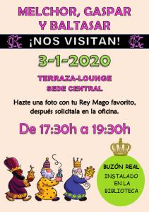 Visita Reyes Magos @ Sede Central