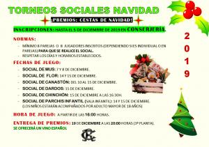 Torneos Sociales @ Sede Central