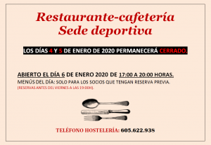 Hostelería @ Sede Deportiva