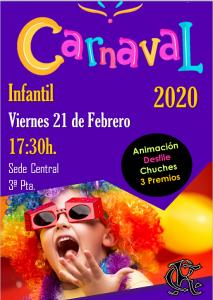 Fiesta Carnaval Infantil @ Sede Central