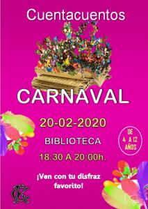 Cuentacuentos Carnaval @ Sede Central