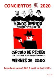 Concierto Manos Arriba 26-06-2020 @ Sede Deportiva